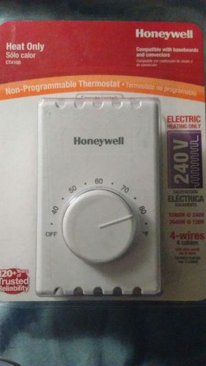 Non-Programmable Mechanical Thermostat for Sale in Hampton, VA