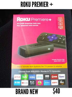 Roku premier tv streaming channels movies for Sale in Magna, UT