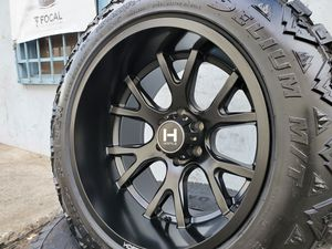 """4) 20x12 Wheels Rims and 33"""" 33x12.50 R20 Tires for Sale in Orange, CA"""