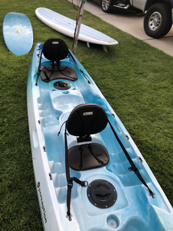 Kayak Perception Tribe 13 foot 5 inch single or double