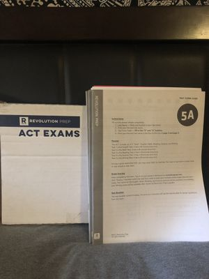 ACT practice exams for Sale in San Jose, CA