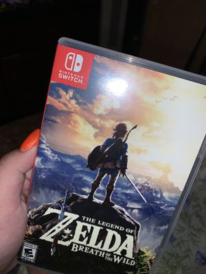 Zelda: Breath of the Wild Nintendo Switch Game for Sale in Lacey, WA
