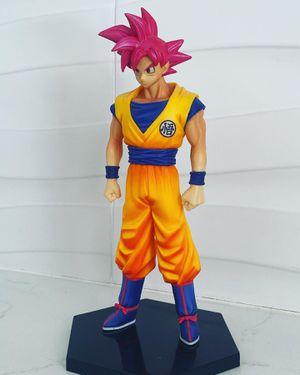 Super Saiyan GOD Goku Red DBS DBZ Model Statue | Dragon Ball Z for Sale in Miami Beach, FL