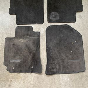 OEM Toyota Corolla Floor Mats Gray Color - Fits 2004 thru 2009 —MAKE OFFER for Sale in Moreno Valley, CA
