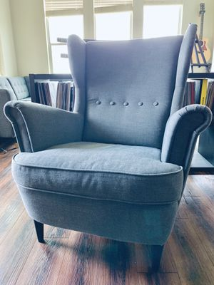 IKEA Arm Chair (Dark Gray) for Sale in San Antonio, TX
