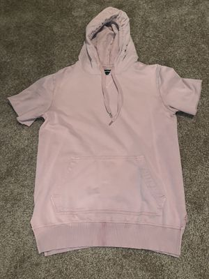 Carbon pink short sleeve hoodie t shirt (Small) for Sale in Las Vegas, NV