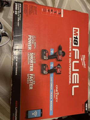 Milwaukee 2996-22 new for Sale in Seattle, WA