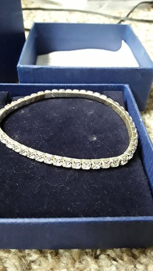 Swarvorski Crystal tennis bracelet for Sale in Las Vegas, NV