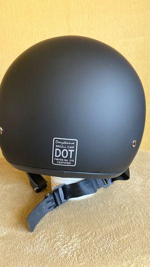 Motorcycle Helmet - D.O.T. Daytona Skull Cap w/o visor for Sale in Mount Laurel Township, NJ