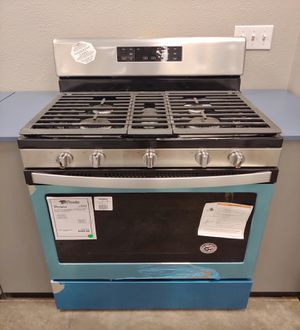 New Whirlpool Stainless Steel Gas Stove Oven w/ 5 Burners 1 Year Warranty^^^ for Sale in Chandler, AZ