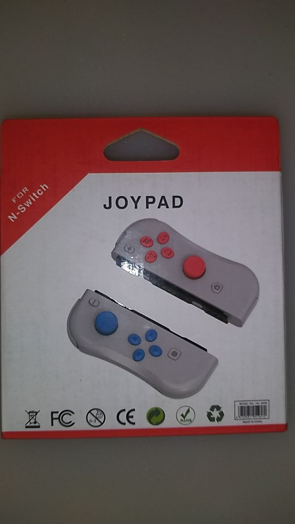Joy con controllers for Nintendo switch