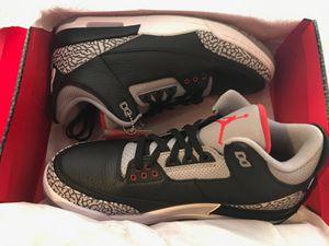 Nike Air Jordan 3 Retro Size 12 New in Box for Sale in Palm Beach Shores, FL