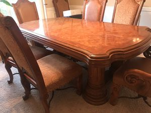 Executive formal dining table set and 8 chairs. for Sale in Snohomish, WA