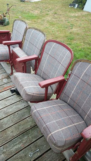 Old theater seats for Sale in Hoquiam, WA