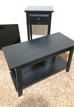 Tv stand and end table for Sale in Fresno, CA