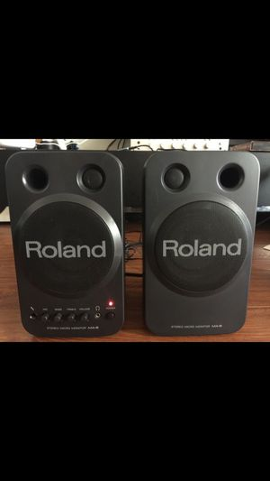 Roland stereo micro monitor speaker. Sound amazing! for Sale in Los Angeles, CA