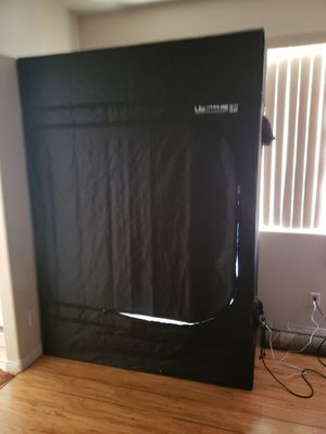 Grow tent/agrobrite light/timer/fan for Sale in Las Vegas, NV