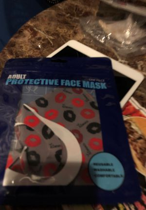 Lips new facemask for Sale in Parkville, MD