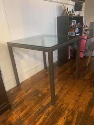 West Elm Glass Table for Sale in Boston, MA