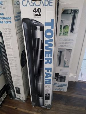 Tower Fan Cascade 40 inch Air Conditioner $30 for Sale in Paramount, CA