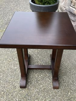 Solid Wood Side Table for Sale in Oregon City,  OR