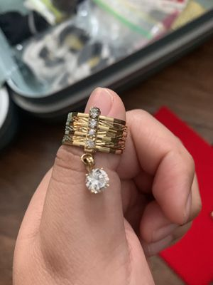 REAL GOLD RINGS for Sale in Spring, TX