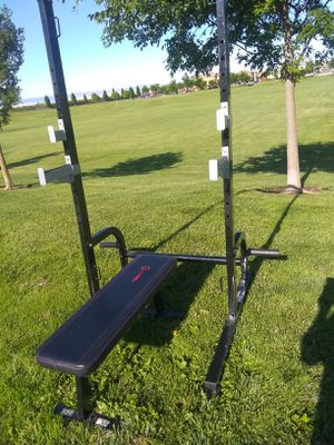 (BENCH SOLD)JUST SQUAT RACK (FIRM$400) for Sale in Stockton, CA