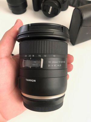 Tamron 10-24mm Canon Mount Lens for Sale in Tucson, AZ