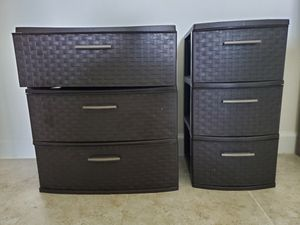 STERYLITE PLASTIC DRAWERS for Sale in Delray Beach, FL