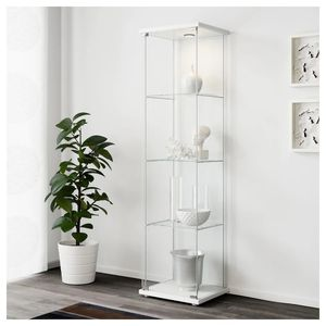 Ikea DETOLF Glass-door display cabinet for Sale in SeaTac, WA