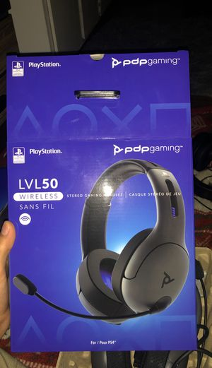 Lvl50 brand new wireless PlayStation headphones for Sale in Clearwater, FL