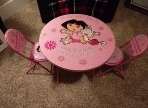 Dora Table & Chairs Set for Sale in Bloomington, IL