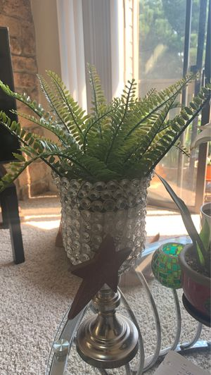 Fake plant and plant holder for Sale in Lakewood, CO