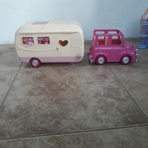Toy Camper And Car for Sale in Chino Hills, CA