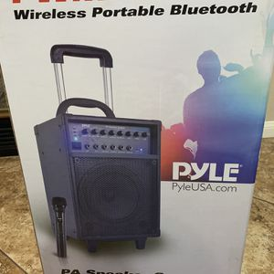 Karaoke system-400w Pyle Bluetooth Plus Extra microphone! for Sale in Temecula, CA