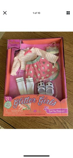 """2020 Deluxe Outfit Ensemble Glitter Girls Dazzling Outfit for 14"""" Doll  Open Box for Sale in Phoenix, AZ"""