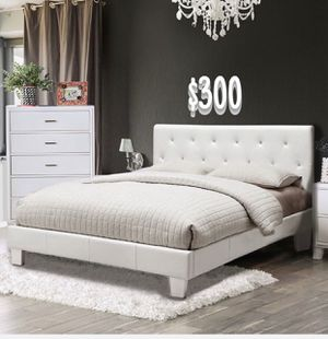 FULL SIZE BED FRAME W/ MATTRESS INCLUDED for Sale in Bell, CA