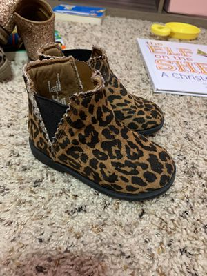 Girls cheetah boots for Sale in Hampton, VA