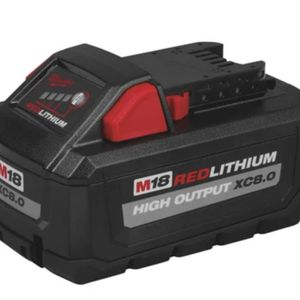 M18 Red Lithium 8.0 Battery I Also Have A 3.0 for Sale in Colorado Springs, CO