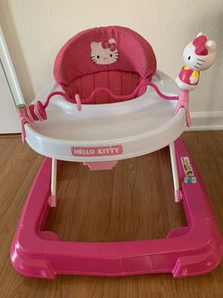 Hello Kitty Baby walker foldable for easy storage for Sale in Chesapeake,  VA