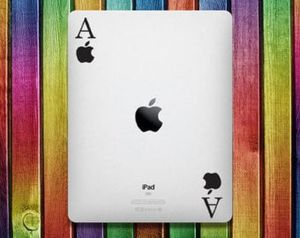 Aces iPad Sticker Decal - decal stickers, ipad mini, ipad stickers, sticker apple, ipad decals, ipad sticker, sticker ipad for Sale in Lakeside, CA