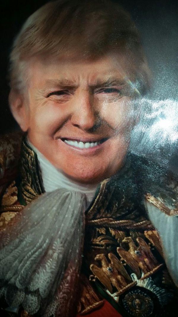OC Wall Art Trump American Crown