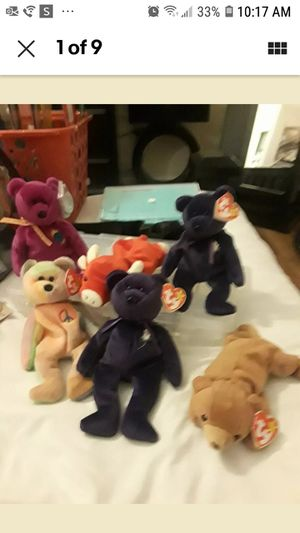 LOT OF 6 RARE BEANIE BABIES for Sale in Riverview, FL