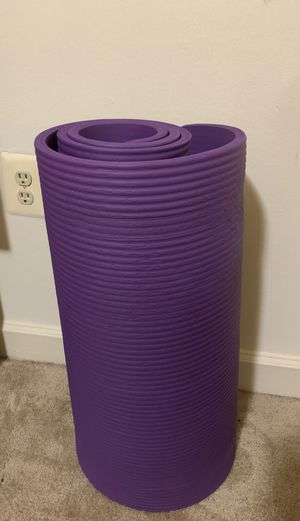 Extra thick yoga mat for Sale in Silver Spring, MD