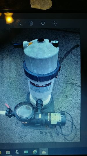 Hayward Pool Pump and Cartridge for Sale in Lower Burrell, PA