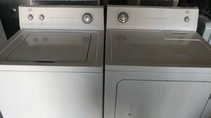 Roper by Whirlpool Super Capacity washer/dryer set for Sale in Lubbock, TX