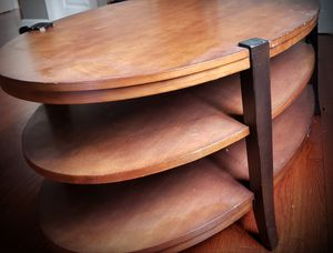 Oval Wooden Center Table for Sale in Atlanta, GA