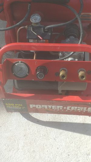 PORTER CABLE AIR COMPRESSOR for Sale in Waukegan, IL