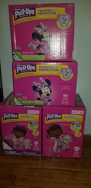 Huggies pull ups for Sale in Paterson, NJ
