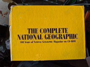 The Complete National Geographic CD-ROM for Sale in Portland, OR